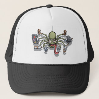 Hobo Von Spiderton Trucker Hat