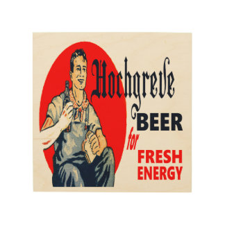 Hochgreve Beer Wood Print