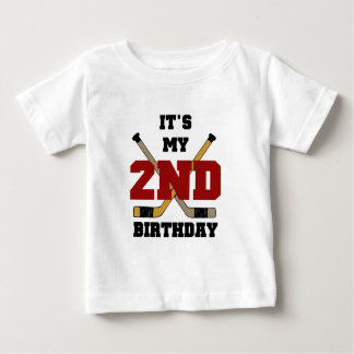 Hockey 2nd Birthday T shirts and Gifts