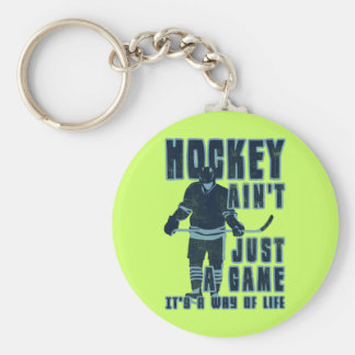 Hockey Ain't Just A Game Key Ring