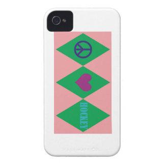 Hockey Argyle iPhone 4 Case