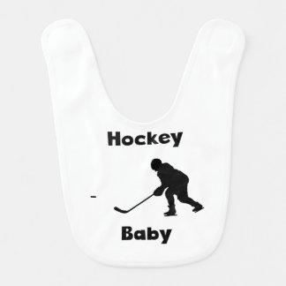 Hockey Baby Bib