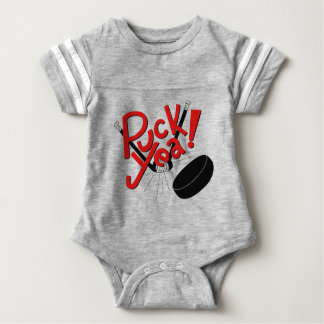Hockey Baby Funny Outfit Baby Bodysuit