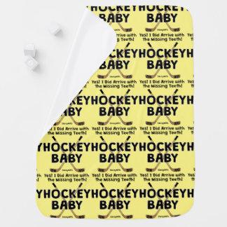 Hockey Baby Missing Teeth Buggy Blanket