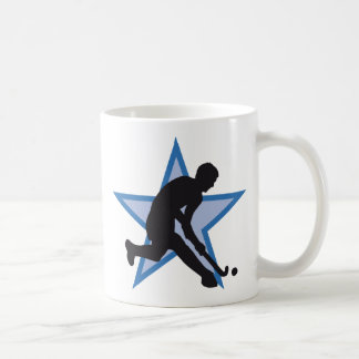 hockey basic white mug