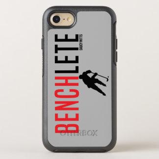Hockey Benchlete Athlete OtterBox Symmetry iPhone 8/7 Case