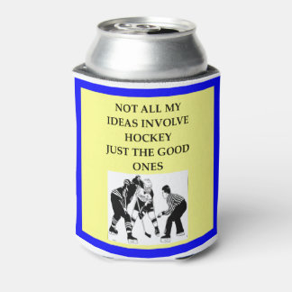 HOCKEY CAN COOLER