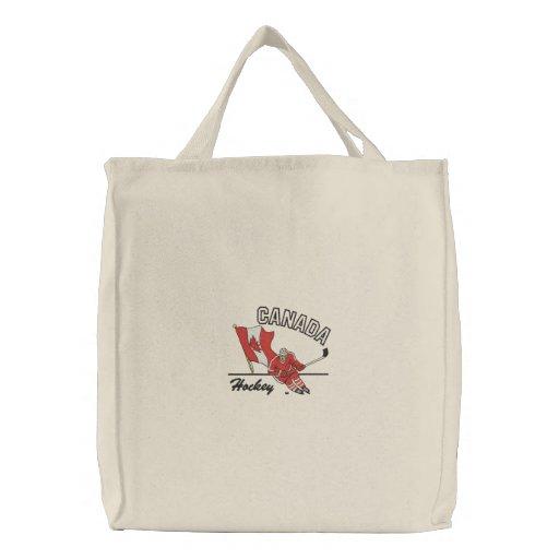 Hockey Canada Tote Bag