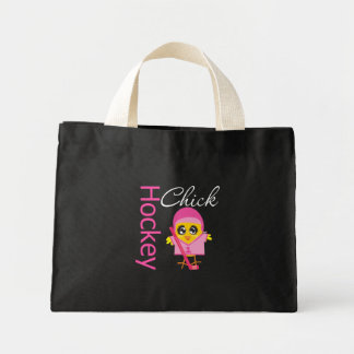 Hockey Chick Mini Tote Bag