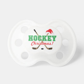 Hockey Christmas Hockey Sticks Santa Hat Dummy
