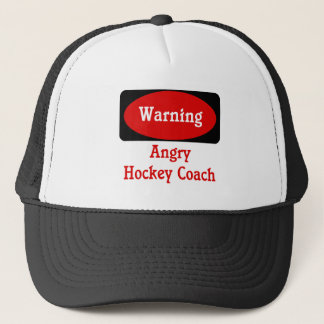 Hockey Coach Cap