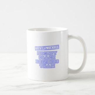 Hockey Coach Drinking Team Coffee Mugs