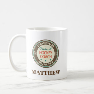 Hockey Coach Personalized Office Mug Gift