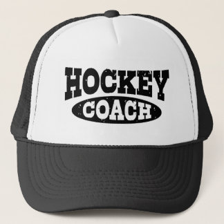 Hockey Coach Trucker Hat