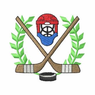 Hockey Crest Embroidered Jacket