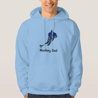 Hockey Dad Customizable Shirt/Hoodie Hoodie