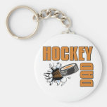 Hockey Dad Key Chain