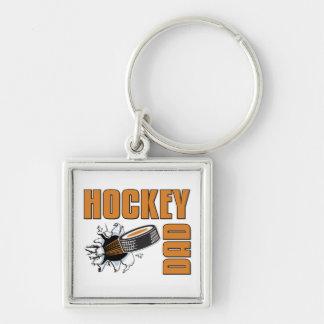 Hockey Dad Key Ring