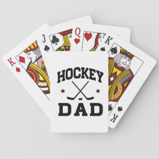 Hockey Dad Playing Cards