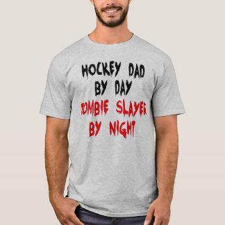 Hockey Dad Zombie Joke T-Shirt