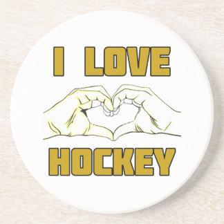 hockey design coaster