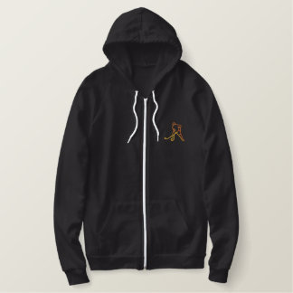 Hockey Embroidered Hooded Sweatshirt