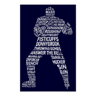 Hockey Enforcer Poster