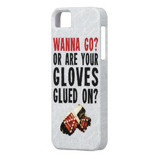 Hockey Enforcer Wanna Go Barely There iPhone 5 Case