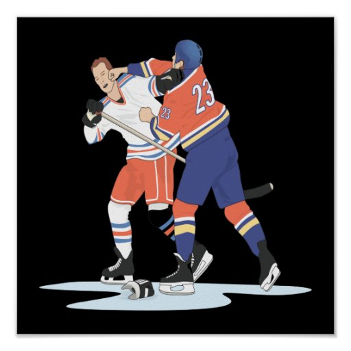Hockey Fight Posters