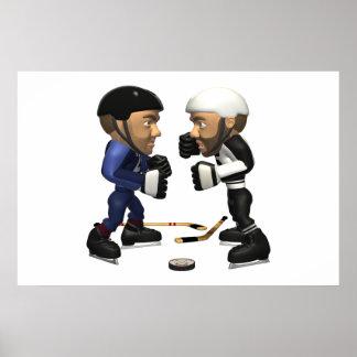 Hockey Fight Poster