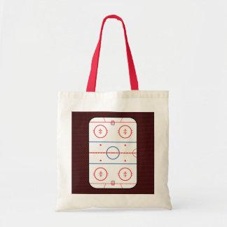 Hockey Game Companion Autograph Ready Budget Tote Bag