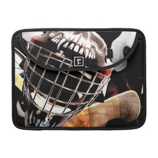 Hockey Gear Grunge Style MacBook Pro Sleeves