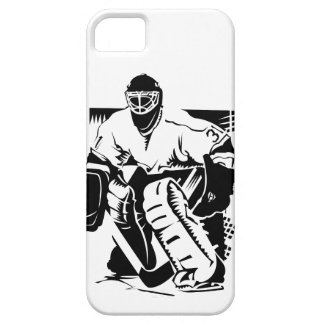 Hockey Goalie Barely There iPhone 5 Case