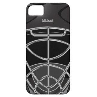 Hockey Goalie Helmet iPhone 5 Case