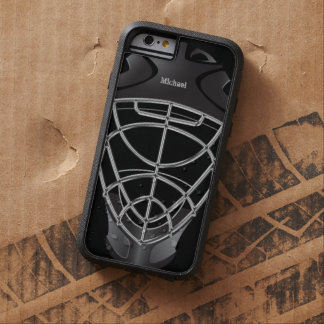 Hockey Goalie Helmet Tough Xtreme iPhone 6 Case