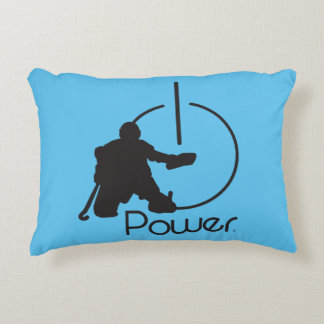 Hockey Goalie kiss Decorative Cushion