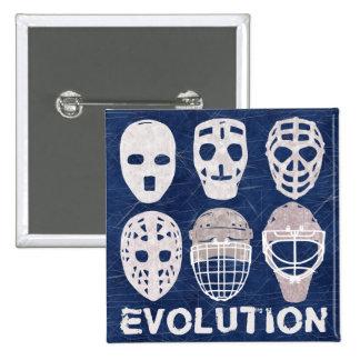 Hockey Goalie Mask Evolution Button