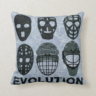 Hockey Goalie Mask Evolution Cushion