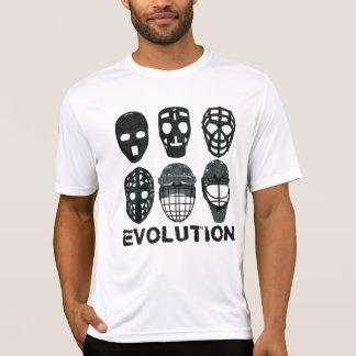 Hockey Goalie Mask Evolution Tee Shirts