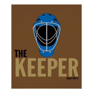 Hockey Goalie Mask Keeper Poster