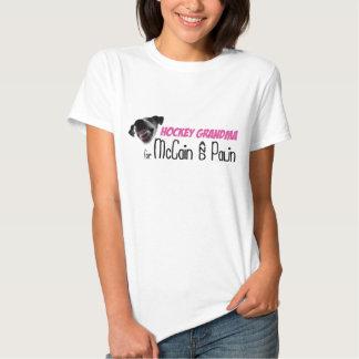 Hockey Grandma for McCain & Palin Shirts