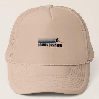 Hockey Grandma Trucker Hat