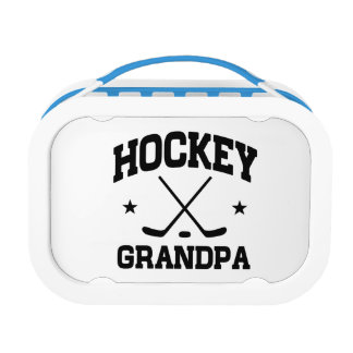 Hockey Grandpa Lunch Box