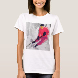Hockey, He Shoots and Scores Art T-Shirt
