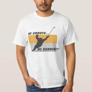 Hockey: He shoots...he scores! Shirts
