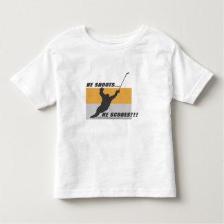 Hockey: He shoots...he scores! T Shirts
