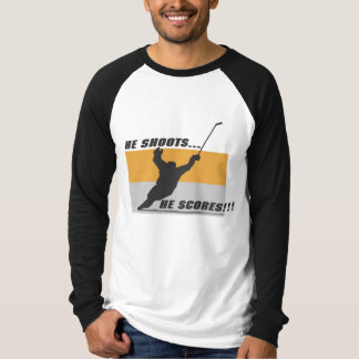 Hockey: He shoots...he scores! Tees