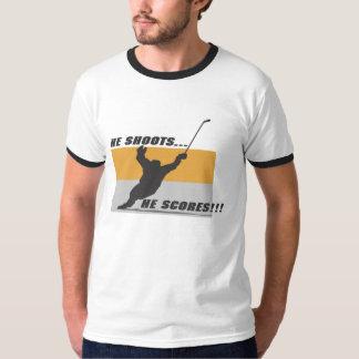 Hockey: He shoots...he scores! Tshirt