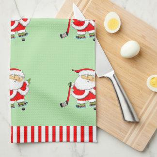 Hockey Holidays Tea Towel