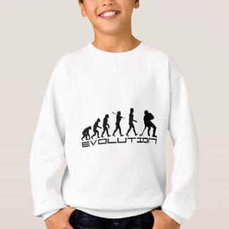 Hockey Ice Hockey Sport Evolution Art Sweatshirt